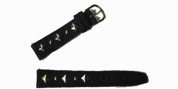 bracelet-montre-jeans-a-fonce-dore18-bracelet montre jeans  :: + infos - Devis