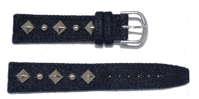 bracelet-montre-jeans-a-fonce-chrome18-bracelet montre jeans  :: + infos - Devis