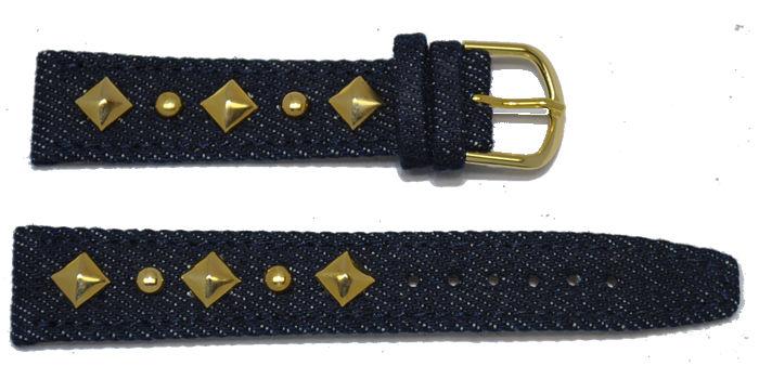 bracelet-montre-jeans-a-moyen-dore18-bracelet montre jeans  :: + infos - Devis