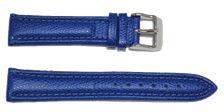 bracelet-montre-av-palerma-bleu18-Bracelet bombé cuir français  :: + infos - Devis