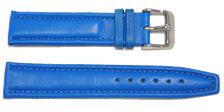 bracelet-montre-av-roma-20bleu20-Bracelet montre cuir bombé  :: + infos - Devis