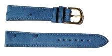 bracelet-montre-bom-autruche-veritable-bleu12-Bracelet montre autruche bombé  :: + infos - Devis