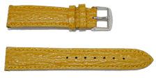 bracelet-montre-bom-tanzanie-jaune18-Bracelet montre cuir bombé  :: + infos - Devis