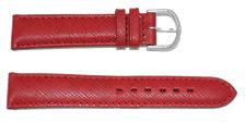 bracelet-montre-bom-torino-rouge18-Bracelet bombé cuir français  :: + infos - Devis