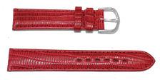 bracelet-montre-bom-varese-rouge18-Bracelet bombé cuir français  :: + infos - Devis