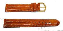 bracelet-montre-dj-florence-gold18-Bracelet bombé cuir italien  :: + infos - Devis