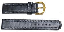 bracelet-montre-platdcb-roma-bleu-marine20-Bracelet montre cuir plat  :: + infos - Devis