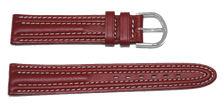 bracelet-montre-tjcb-roma-2rouge18-Bracelet montre cuir bombé  :: + infos - Devis